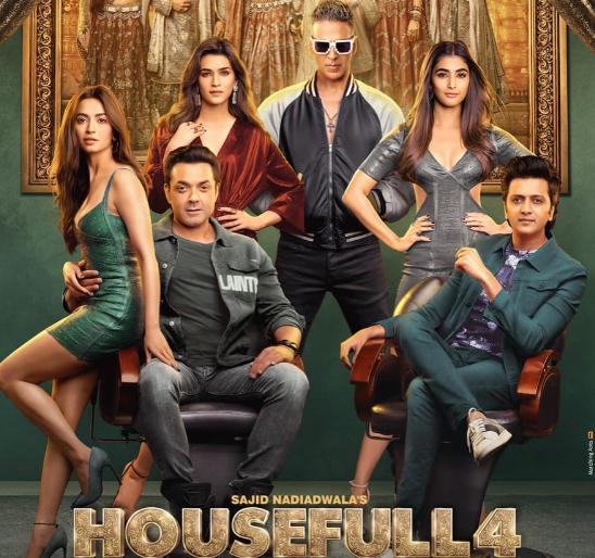 Housefull 4 : Official Trailer   Akshay   Riteish   Bobby   Kriti S   Pooja   Kriti K