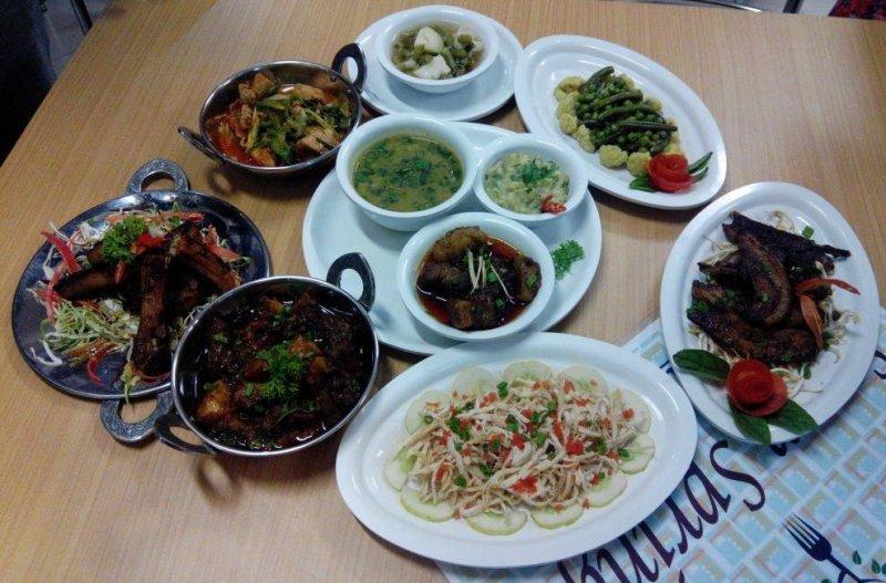 Meghalaya Street Food