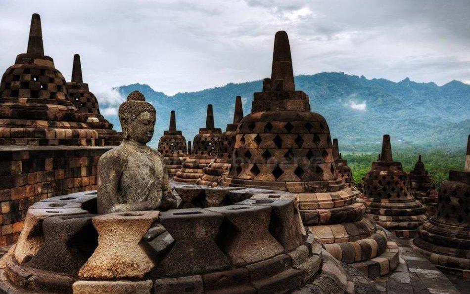 Borobudur Temple Compounds Indonesia